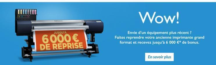 roland promotion imprimante